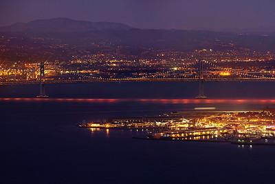 Panorama of San Francisco (no bridge)