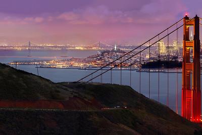 Gigapixel Panorama - City Lights